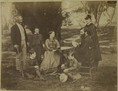 Photograph: Group; 20 Aug 1870; 1957.13.296