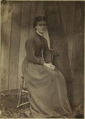 Photograph: Sarah Elizabeth Barker; 1870; 1957.13.297