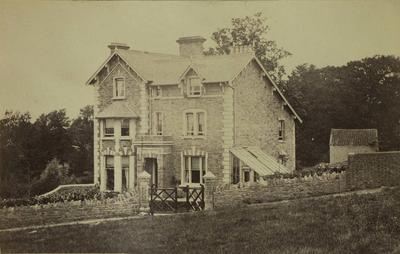Photograph: Reverend J H Barkers House