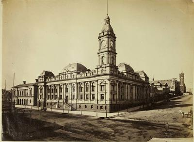 Photograph: Melbourne Town Hall