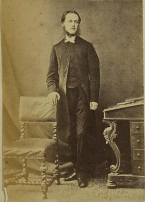 Photograph: Reverend Augustine Chudleigh