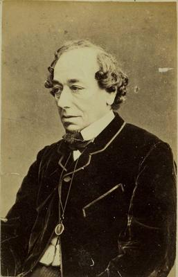 Photograph: Benjamin Disraeli