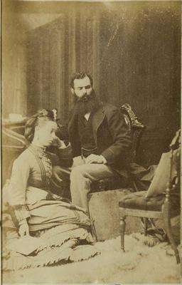 Photograph: Mr and Mrs Jacob Pattison
