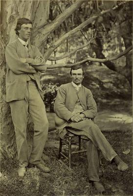 Photograph: Arthur Llewellyn and Samuel Delabere Barker; 1957.13.632