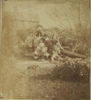 Photograph: Alfred Charles Barker's Young Family
