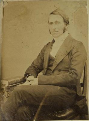 Photograph: Reverend Matthias Barker