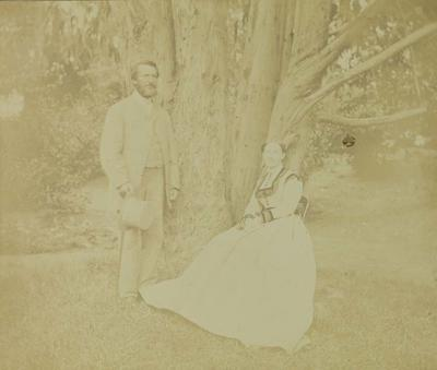 Photograph: Mr and Mrs McDonald