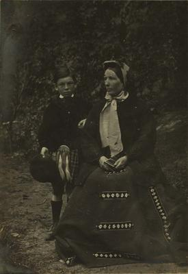 Photograph: Woman and Boy