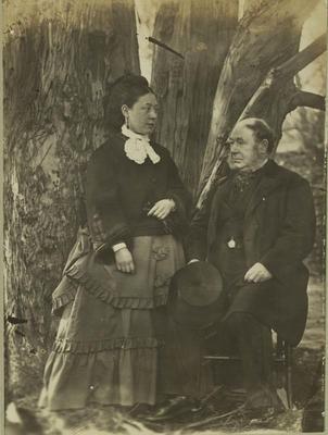 Photograph: Captain Alexander Lawrence; 1872; 1958.81.347