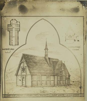 Photograph: Merivale Church Drawing Plan