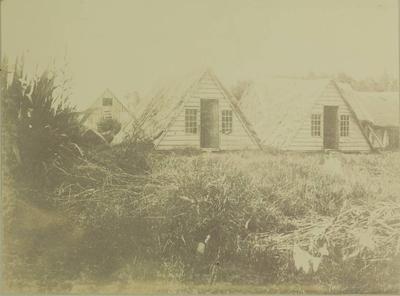 Photograph: V-Huts