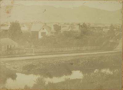 Photograph: Panorama of Christchurch