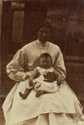 Photograph: Woman and Baby