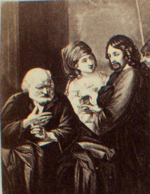 Print: Religious Scene