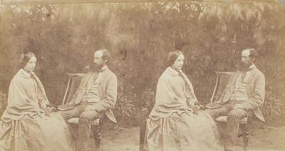 Photograph: Mr and Mrs Charles Blakiston Senior