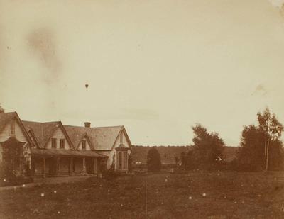 Photograph: Wooden Homestead
