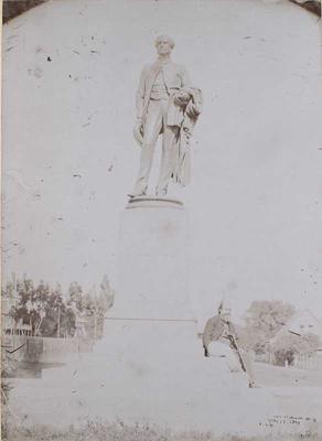 Photograph: Godley Statue