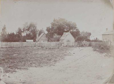 Photograph: Old Cottages