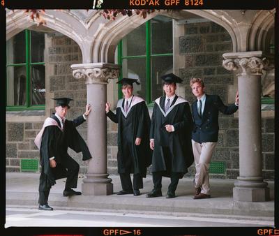 Negative: Wayne Jarm And Friends Graduates