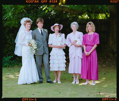 Negative: MacDonald-Palmer Wedding
