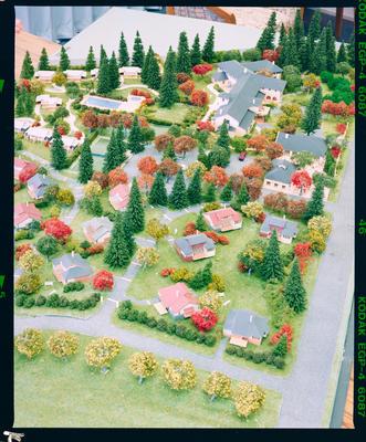 Negative: P.R. South Model Buildings