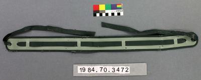 Belt: Green Tie-end