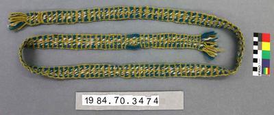 Belt: Green Homespun