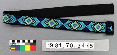 Belt: Diamond Patterned