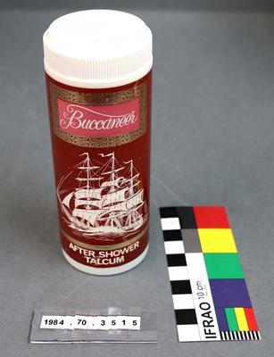 Hygiene Packaging: Buccaneer After Shower Talcum Powder