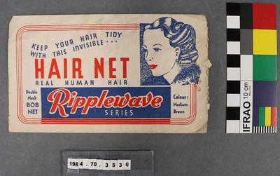 Hair Care Packaging: Ripplewave Hair Net Envelope