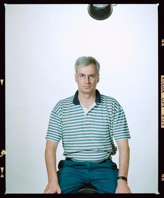 Negative: Ian Jensen Portrait