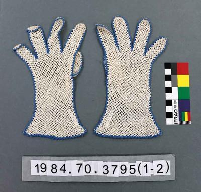Gloves: Blue Edged