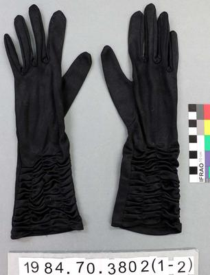 Gloves: Black