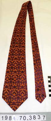 Necktie: Purple and Bronze