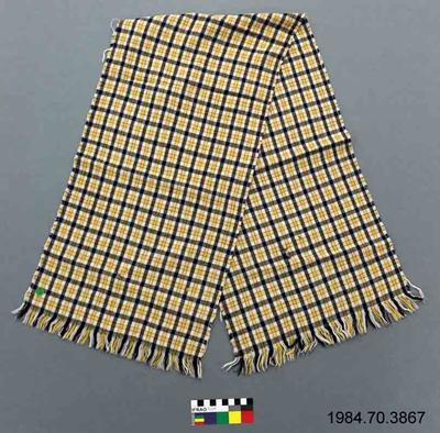 Scarf: Chequered