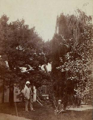 Photograph: Dr A C Barker and Jack