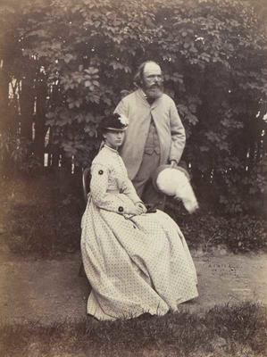 Photograph: Dr A C Barker and Lizzie