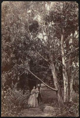 Photograph: Dr A C Barker and Mary