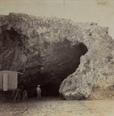 Photograph: Cave Rock; 08 Oct 1867; 2016.15.19