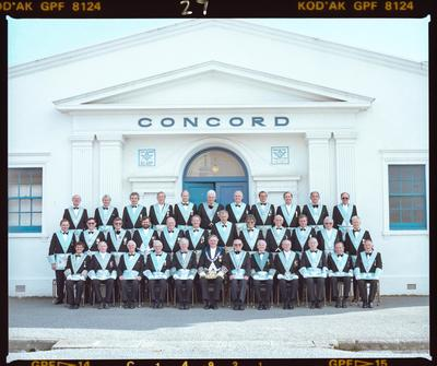 Negative: Concord Masonic Lodge Group