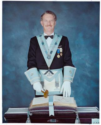 Negative: Mr Roger Wright Freemason Portrait
