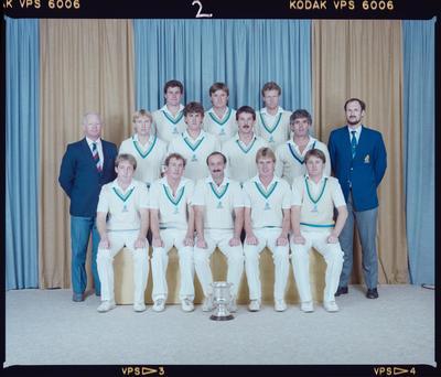 Negative: St Albans Cricket Club Senior Men 1987
