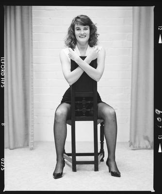 Negative: Miss T. Webster Portrait
