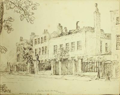 Sketch: London Field Hackney, 10 July 1850