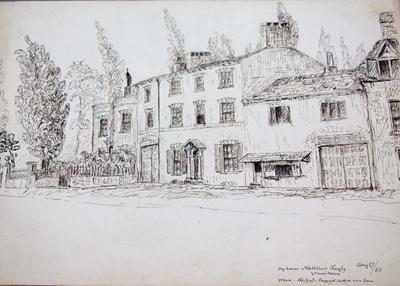 Sketch: My House, 17 August 1850