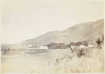 Photograph: Mt Peel Homestead