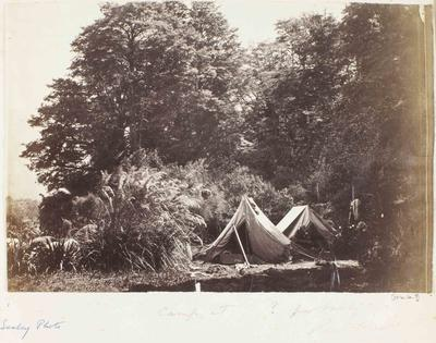 Photograph: Camping at Peel Forest