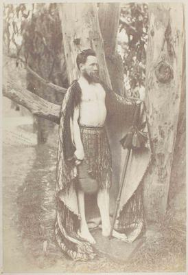 Photograph: Mr E R Chudleigh in Costume, 25 September 1868