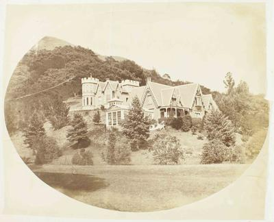 Photograph: View of Homestead on Hillside