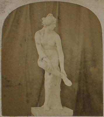Photograph: Venus, Sculpture, 1862